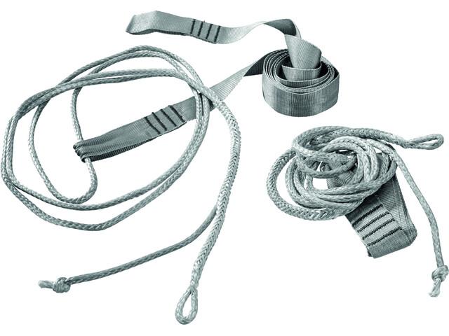 Cocoon Hammock Straps Ultralight grey/light grey